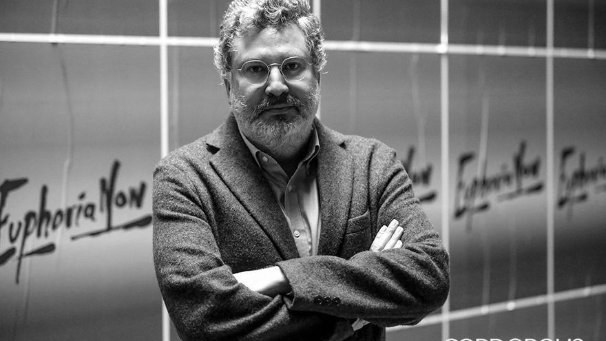 El director del Centro de Creación Contemporánea, Álvaro Rodríguez Fominaya | ÁLEX GALLEGOS