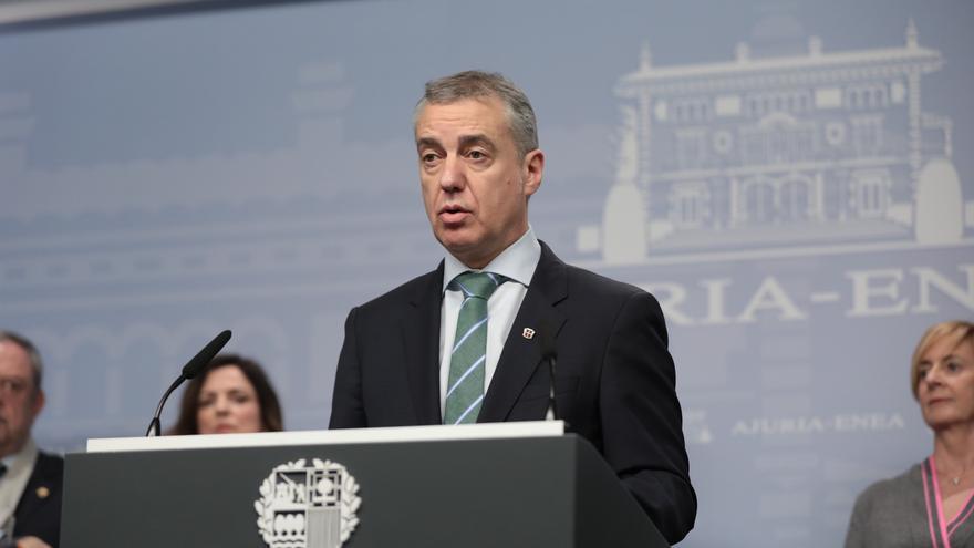 El Lehendakari, Iñigo Urkullu, anuncia la convocatoria de nuevas elecciones en Euskadi.