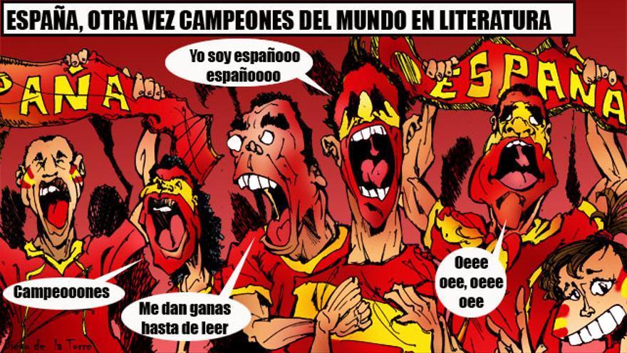 España, a la cola en número de lectores