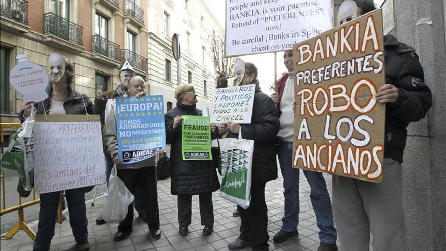 Afectados por preferentes de Bankia exigen la nulidad general de contratos