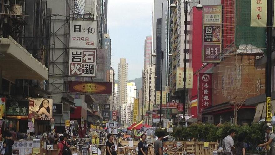 Estudiantes descartan llevar sus peticiones democráticas a Pekín esta semana