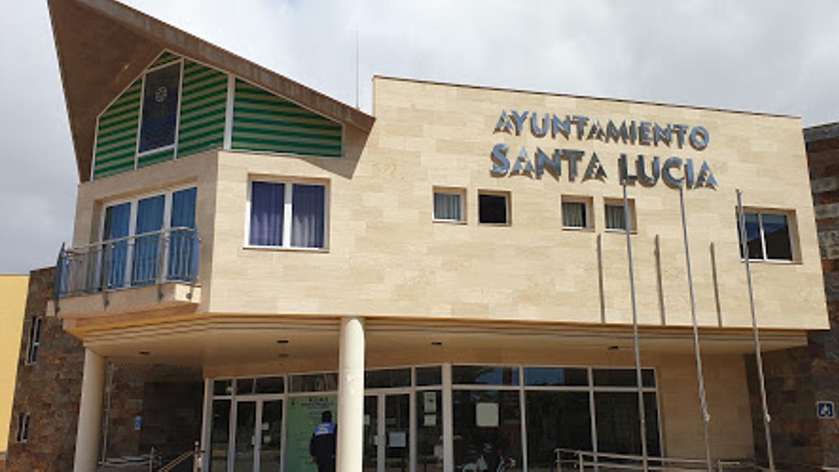 Ayuntamiento de Santa Lucía de Tirajana.