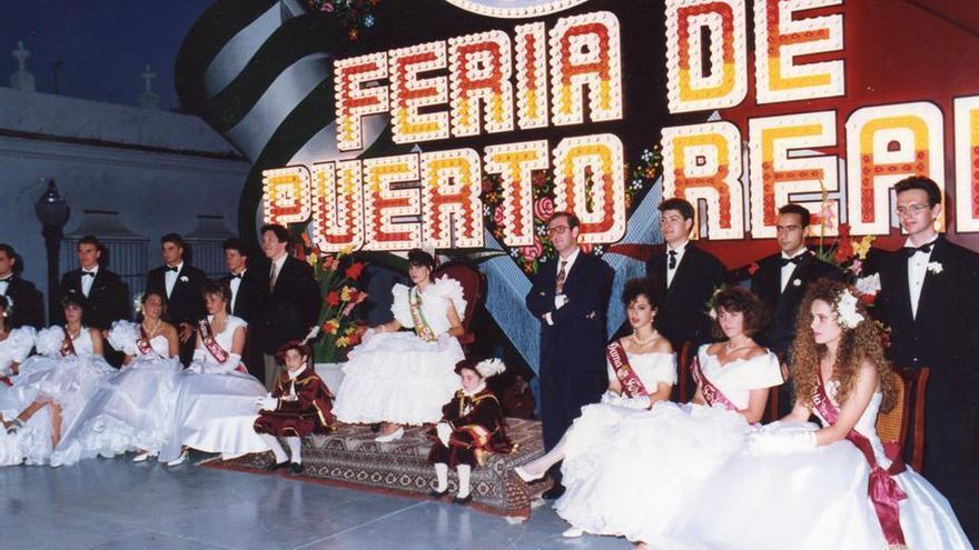 Imagen del certamen de la Feria en el año 92.