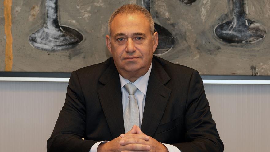 Manuel Jove, en una de sus empresas.