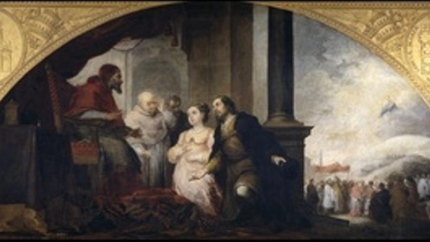 Fundación De Santa María Maggiore De Roma. El Patricio Revela Su Sueño Al Papa L