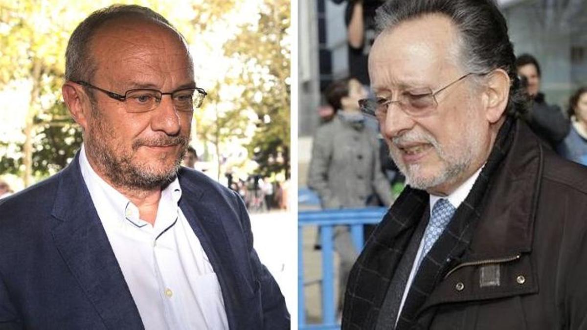 El exsubdelegado del Gobierno en Valencia, Rafa Rubio, y el que fuera mano derecha de Rita Barberá, Alfonso Grau.
