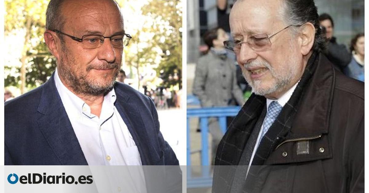 Prisión para al exsubdelegado del Gobierno Rafael Rubio y al exvicealcalde del València Alfonso Grau