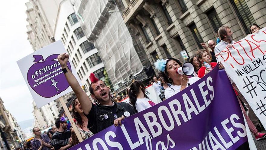Trabajadoras sexuales se unen a un sindicato para reclamar derechos laborales