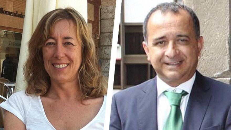 Teresa Mayans y Javier Plata, nuevos subdelegados del Gobierno de Canarias.