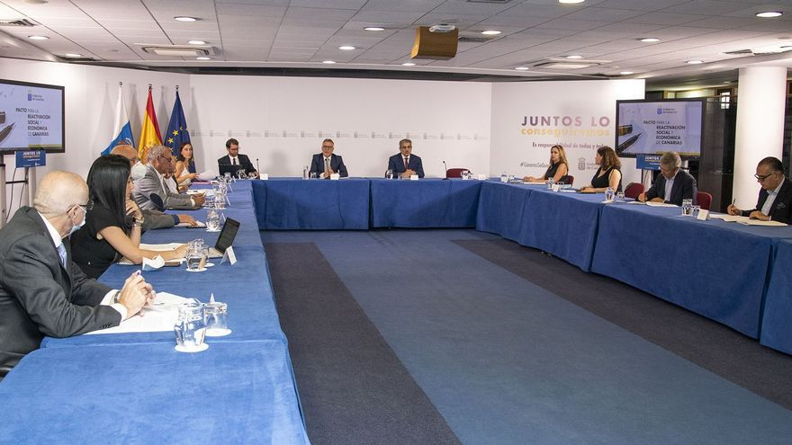 El Plan de Reactivación Social y Económica de Canarias contempla hasta la fecha 914 millones en acciones concretas para 2020