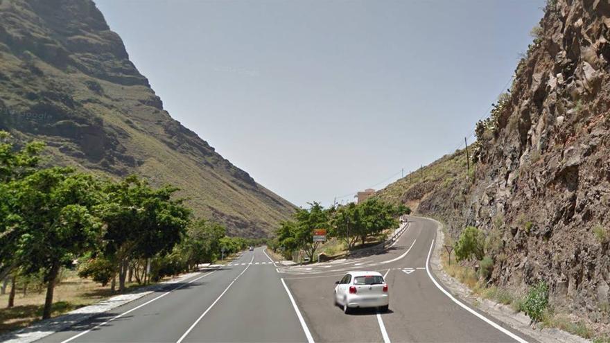El cruce de Las Orijamas en Valle Gran Rey