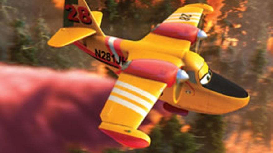 'Aviones 2: Equipo de rescate' se proyecta este jueves en el Parque de Echevacóiz