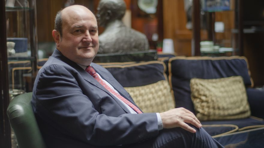 Andoni Ortuzar, presidente de EAJ-PNV