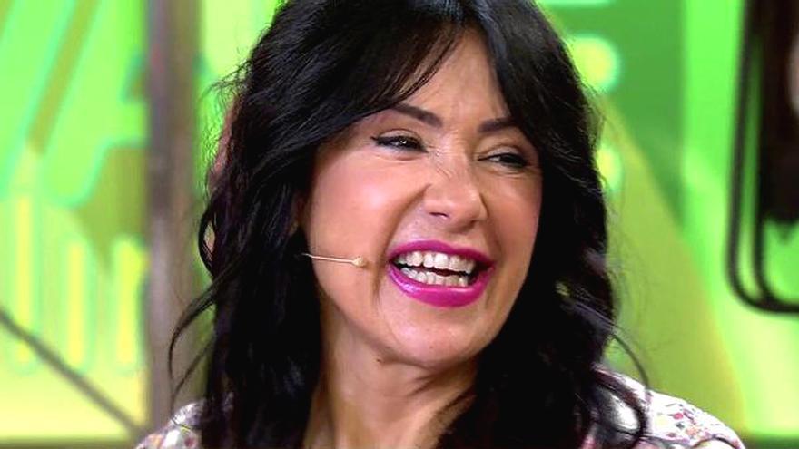 Maite Galdeano también prueba como presentadora de 'Sálvame', esta vez por petición popular