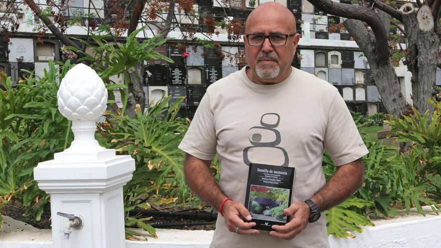 El portavoz de la Plataforma de Familiares de los Fusilados de San Lorenzo y escritor de 'Semilla de memoria', Francisco González Tejera