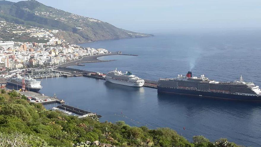 Los cruceros regresan al Puerto de Santa Cruz de La Palma a finales de octubre