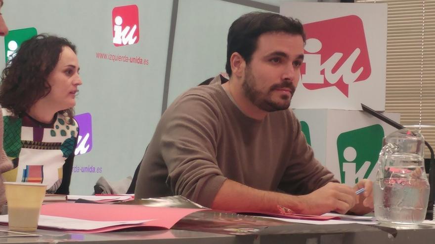 """Garzón dice que sólo la izquierda """"coherente"""" de Unidos Podemos puede evitar """"monstruos"""" como Trump"""