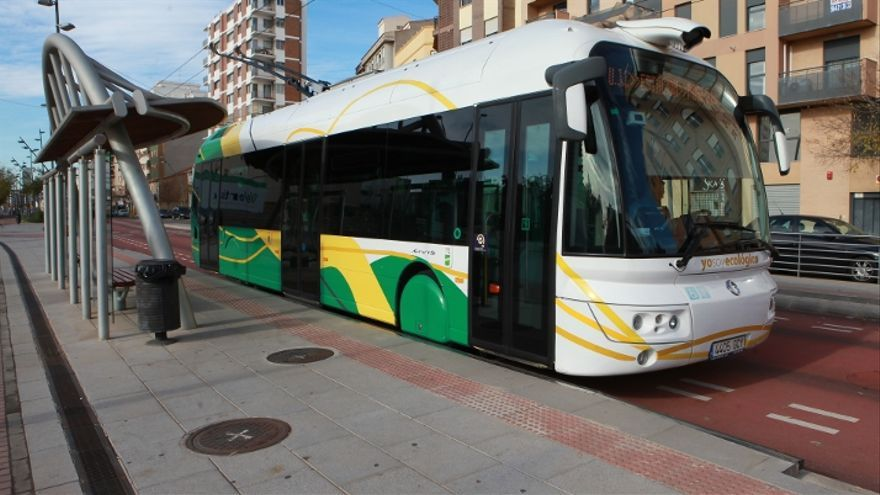 Tram de Castellón.