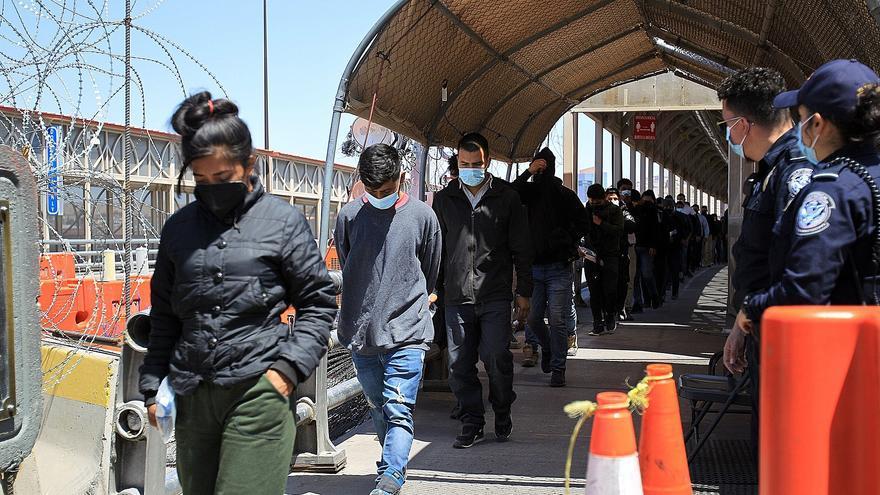 La ola migratoria continúa en la frontera norte de México
