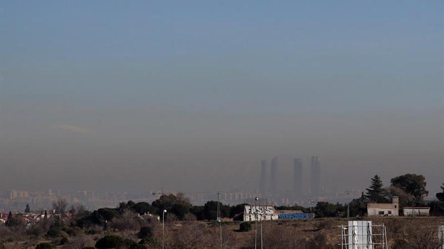 Los altos niveles de polución en Madrid obligan a activar el escenario 2