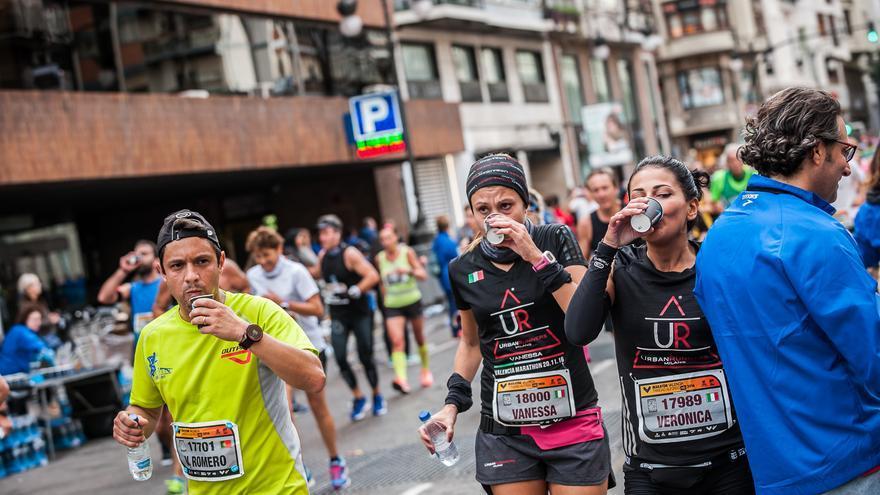 Corredores del Maratón en la edición del año pasado