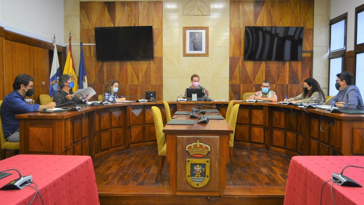 Primera reunión del equipo motor del Plan Estratégico de Igualdad y Prevención de la Violencia de Género de La Palma.