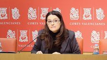 Mònica Oltra, diputada de Compromís