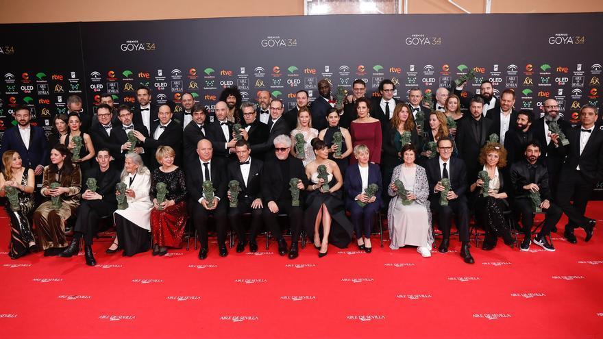 Un total de ocho películas presentadas en el Festival dde San Sebastián logran 20 premios