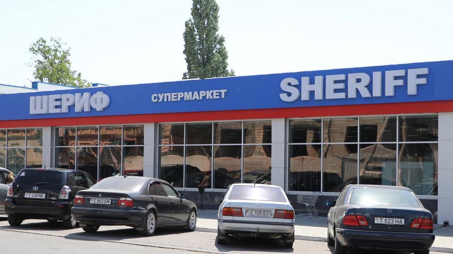 Supermercados Sheriff en Tiraspol, Transnistria