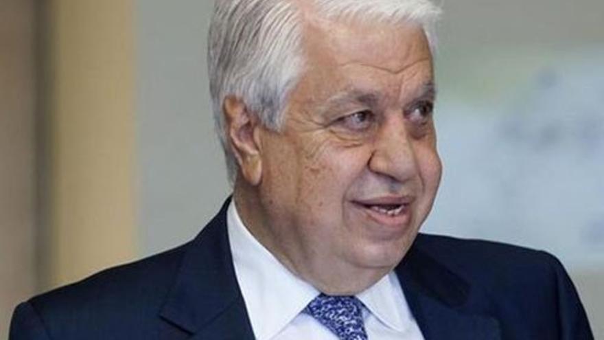 El empresario sirio y accionista del CD Tenerife, Amid Achí. (EFE).