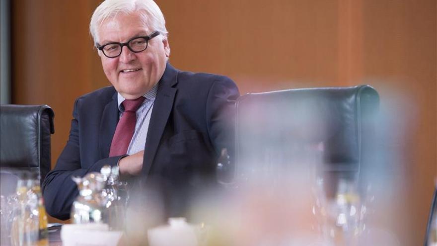 Steinmeier subraya la importancia de recordar con Rusia el fin de la II Guerra Mundial