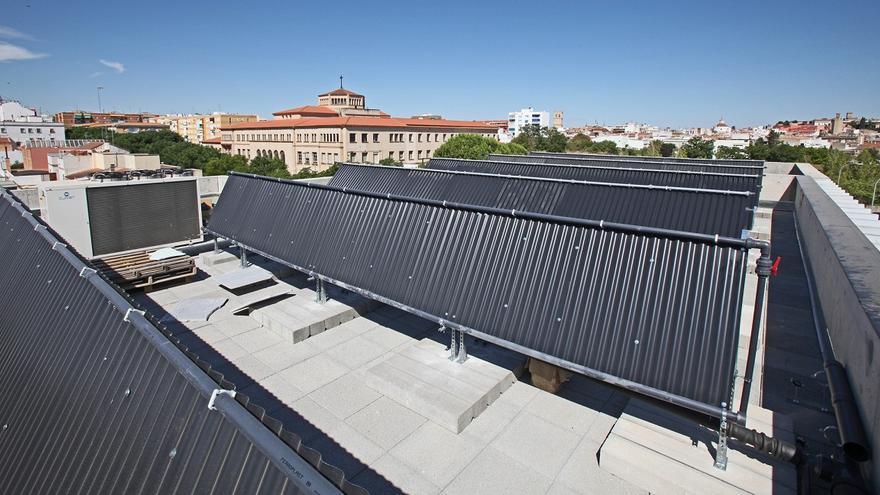 paneles ahorro energético Diputación Badajoz