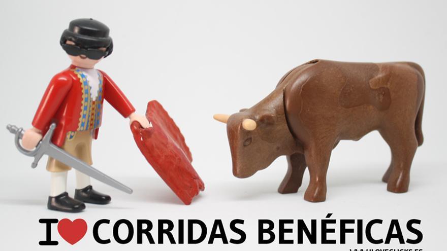 I love corridas benéficas