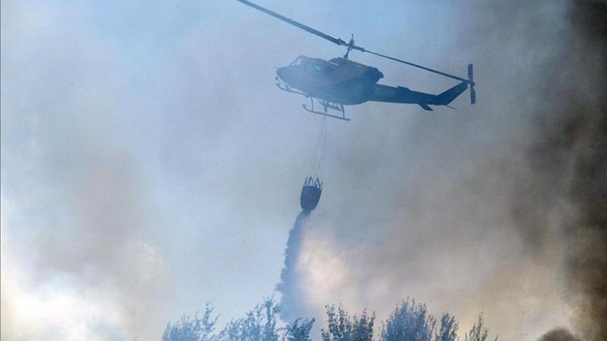 Incendio en Talavera de la Reina en 2015