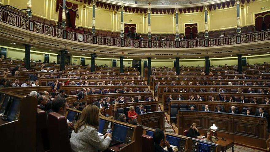 El Congreso guarda minuto de silencio por Barberá del que se ausenta Podemos