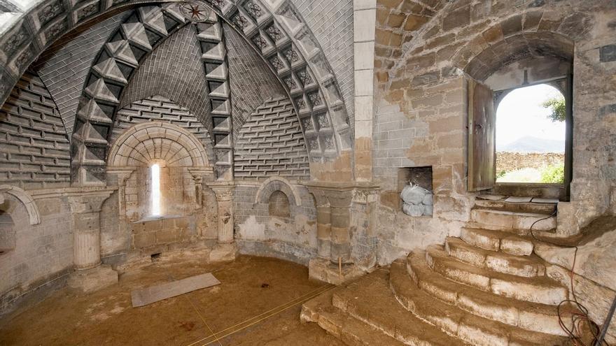 Cultura destina 352.391 euros a la restauración del interior de la iglesia de San Salvador de Gallipienzo