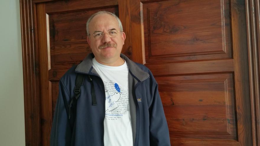 Adolfo Rodríguez tiene una experiencia docente de casi 36 años. Foto: LUZ RODRÍGUEZ.