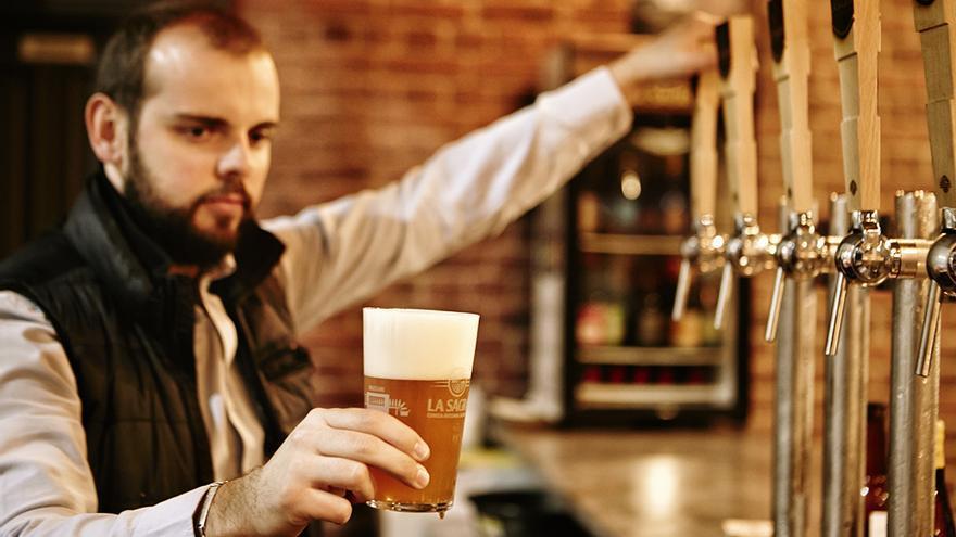 Carlos García, CEO de Cervezas La Sagra