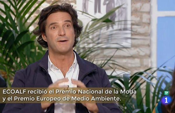 Javier Goyeneche, presidente y fundador de ECOALF, en su paso por Maestros de La Costura | RTVE