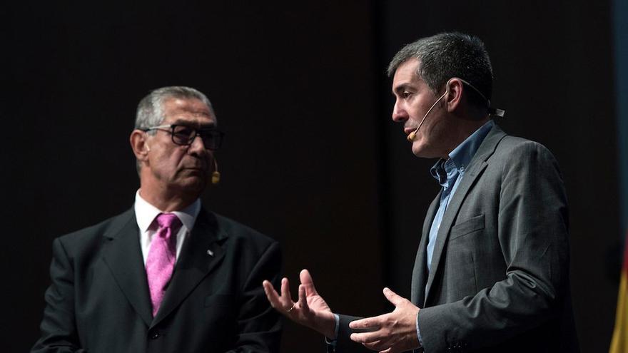 Fernando Clavijo visitó Estados Unidos para atraer inversionistas a Canarias. (EFE).