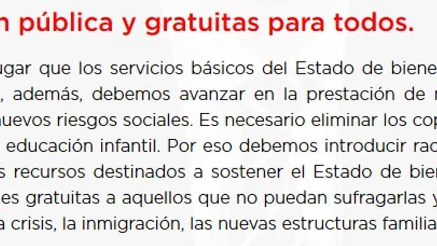 Programa Pedro Sánchez (versión definitiva)