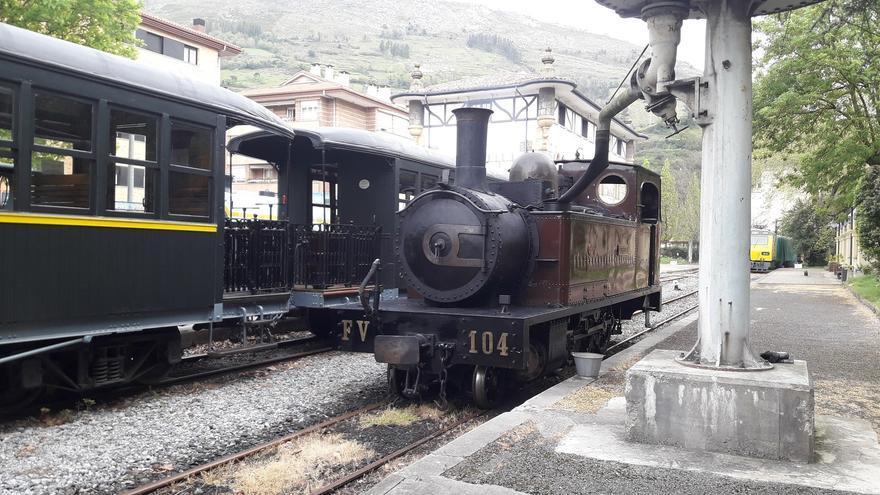 Archivo - El Museo Vasco del Ferrocarril pone en circulación tres trenes de vapor este fin de semana