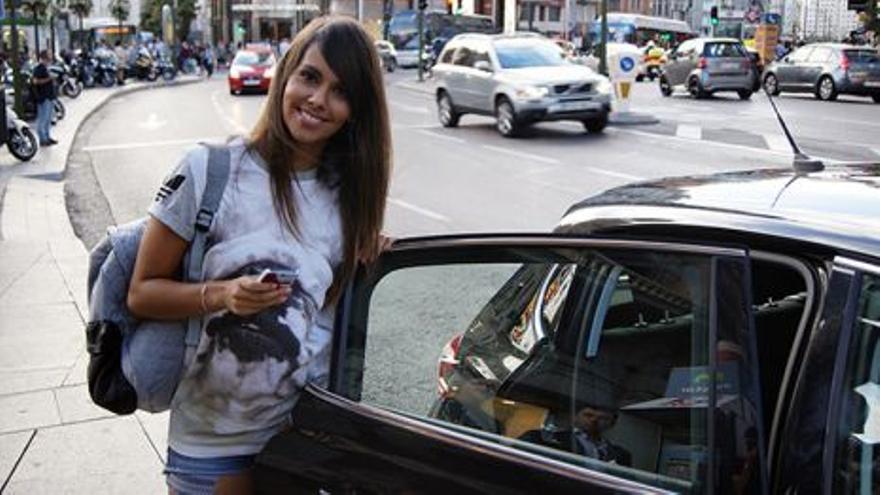 Cristina Pedroche, en la polémica foto promocional de Uber