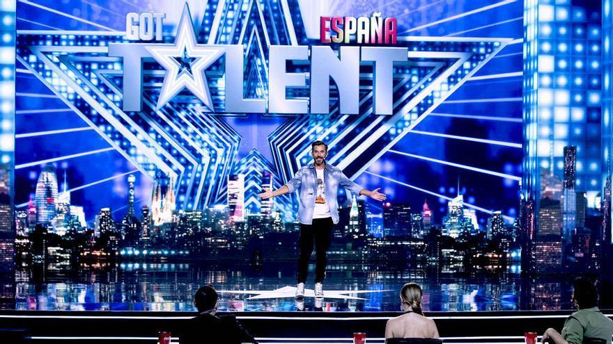 Santi Millán y los tres jueces en la grabación de 'Got Talent 6'