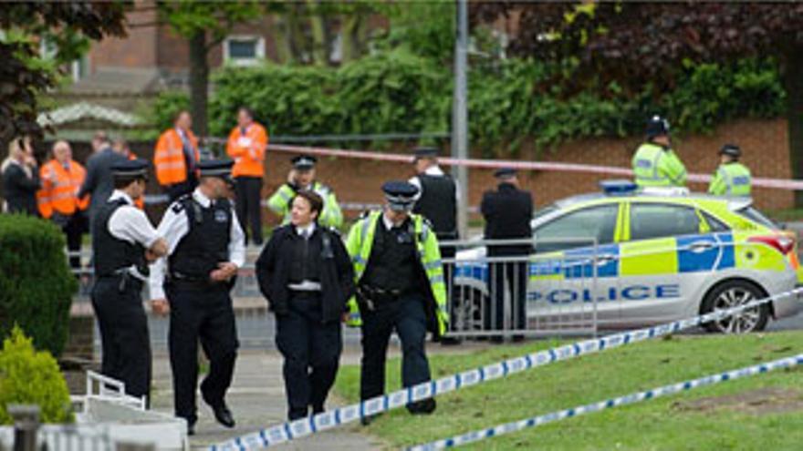 Imagen del lugar del atentado. EFE