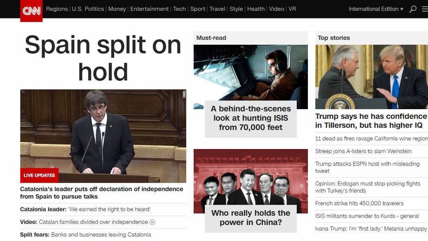 Portada de la CNN