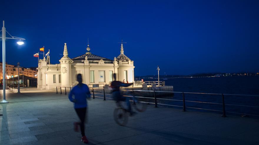 Palacete del Embarcadero de Santander. | JOAQUÍN GÓMEZ SASTRE