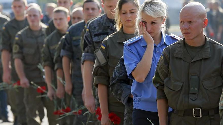Los nacionalistas exigen un referéndum sobre el autogobierno del este de Ucrania