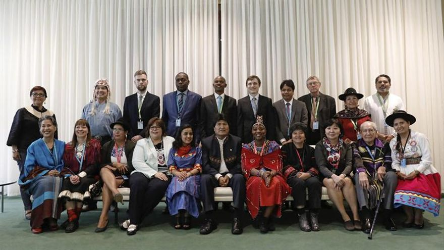 La ONU celebra el avance de derechos indígenas con Morales como protagonista