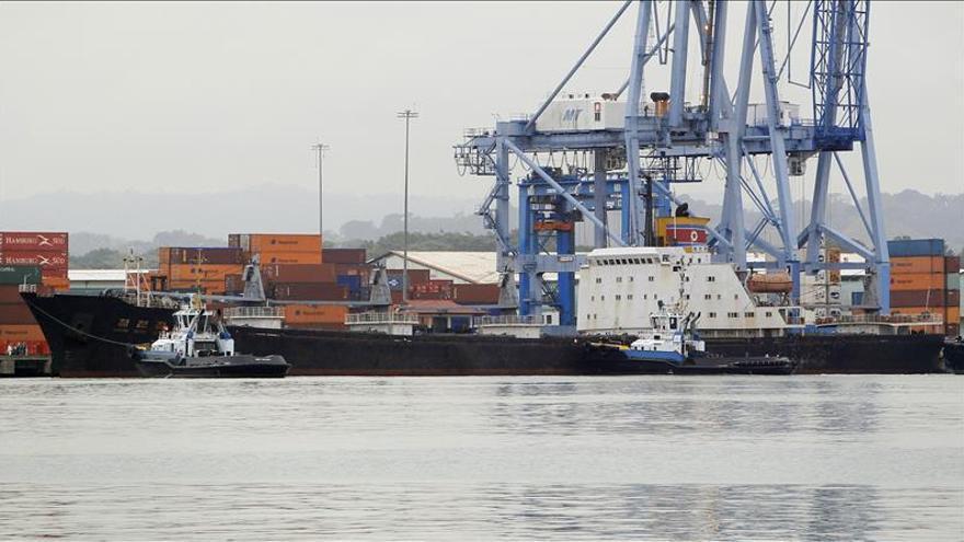 El barco norcoreano acepta pagar la multa impuesta por el Canal de Panamá